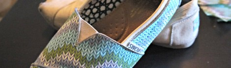 Design DIY: Fabric TOMS DIY