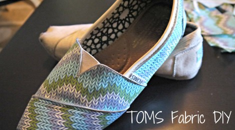 TOMS Fabric DIY