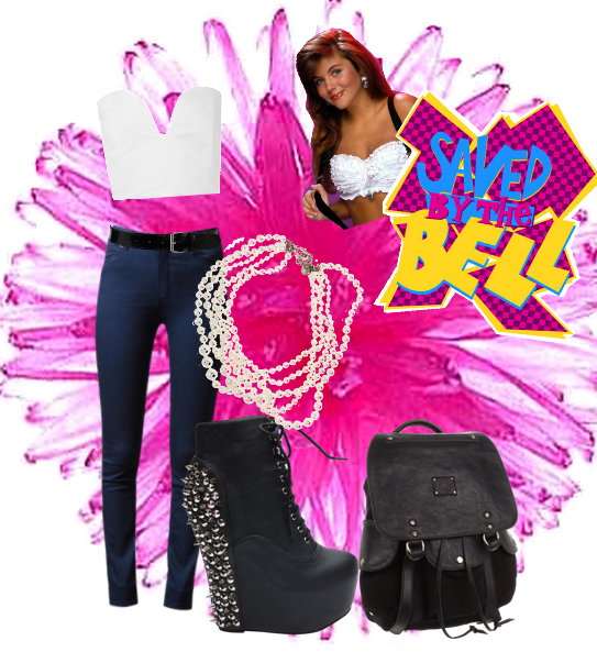 Kelly Kapowski Saved By The Bell Fashion