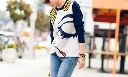 The Style Guru: Graphic Sweaters