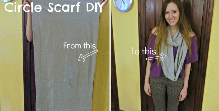 Design DIY: Pillowcase to Infinity Scarf DI
